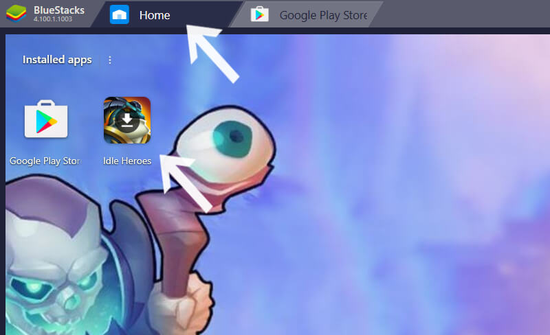 go back to the homepage then click on the game logo