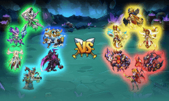 new team aura idle heroes